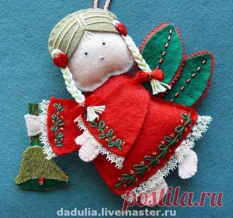 «Рождественские ангелочки из фетра» — карточка пользователя tanya.ionko в Яндекс.Коллекциях