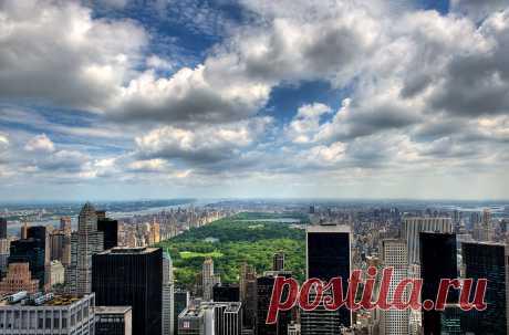 Центральный парк Нью-Йорка (США)