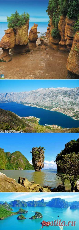10 самых красивых заливов планеты.
