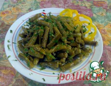 Зеленая фасоль с чесноком по-сирийски
