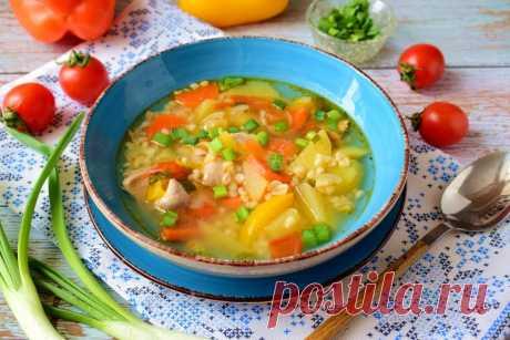 Суп с булгуром и курицей рецепт с фото пошагово - 1000.menu
