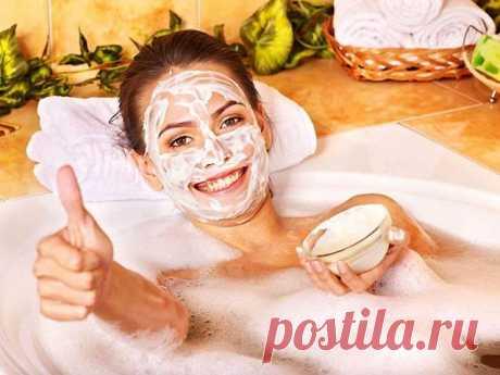 Маски от морщин: домашний спа-салон / Будьте здоровы