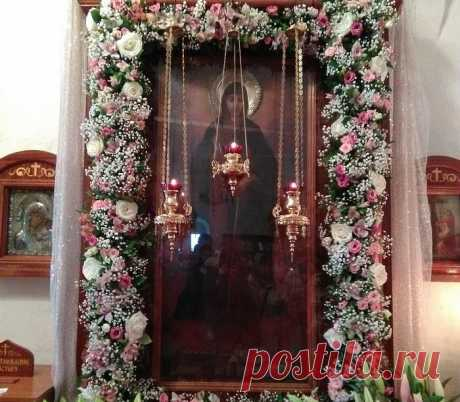 Икона неугасимая свеча о чем молятся