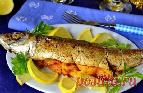 Скумбрия в духовке: идеальный рыбный ужин!