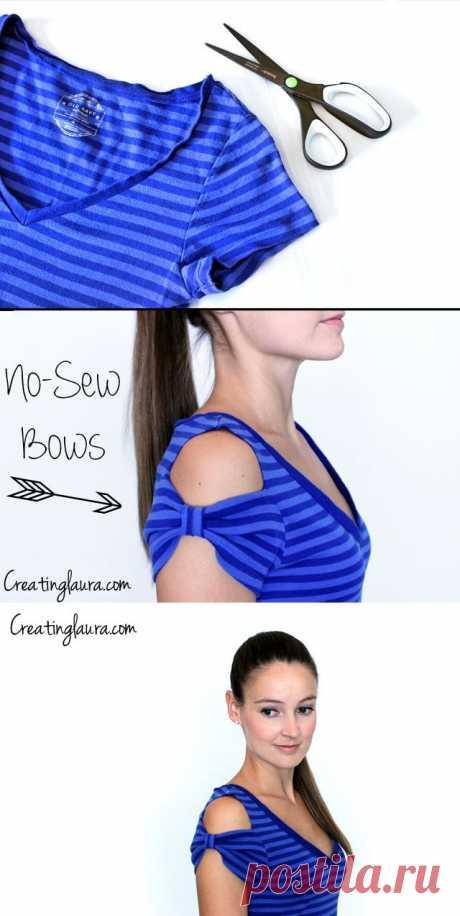 La decoración del hombro de la camiseta (Diy) \/ las Camisetas DIY \/ la SEGUNDA CALLE
