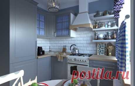 Малогабаритная королевская кухня: 15 удачных дизайн-проектов в хрущёвках . Милая Я