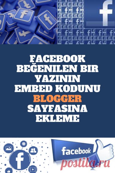 Facebook Beğenilen Bir Yazının Embed Kodunu Blogger Sayfasına Ekleme Facebook bir yazının embed kodunu blogger sitesine nasıl eklenir,facebook bir yazı blogger sitene ekleme işlemleri nasıl yaplır,resimli olarak anlatacağım facebook beğenilen yazıların embed kodunu makalelerinize nasıl ekleyeceğiniz konusunda size yardımcı olacaktır.
