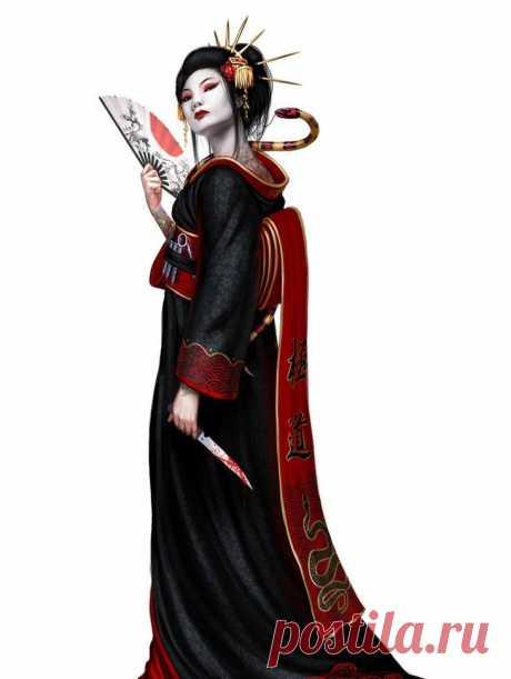 Японсикие  гейши-ниндзя и их оружие Их как огня боялись изнеженные гейши, и двадцатой дорогой обходили хладнокровные ниндзя. Об их образованности и утончённой красоте слагались легенды, каждый мужчина тайно мечтал о встрече с ними и… см...