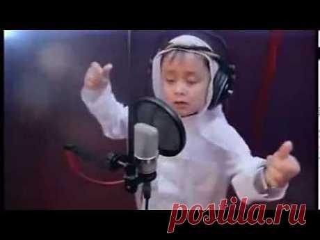 ▶ 4 летний узбек Журабек Жураев - Арабское Танго - YouTube