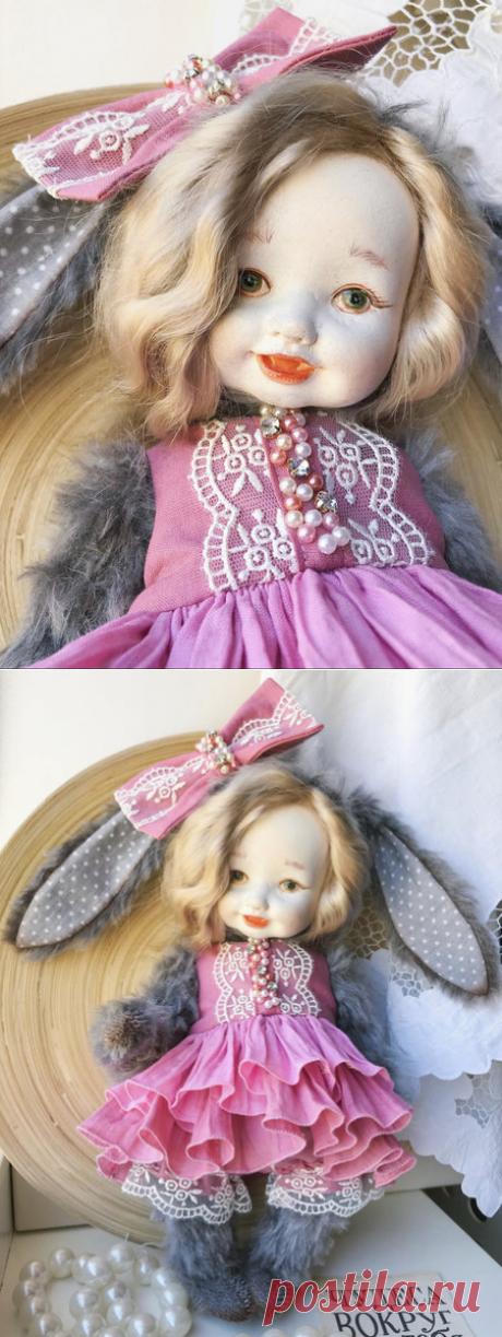 Плюшевый кролик по Mila Popova-Bear Pile