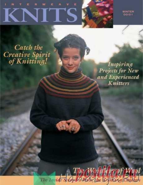 Английский журнал по вязанию ~ INTERWEAVE KNITS 2000 WINTER / ЖУРНАЛЫ и КНИГИ - самое популярное и интересное