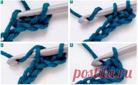 Учимся вязать крючком / Вязание крючком / В рукоделии