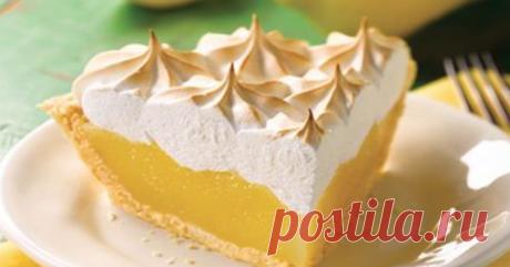 Простой и вкусный лимонный пирог    Песочное, хрустящее тесто, раскатанное в тонкий корж, в сочетании с нежной, лимонной начинкой, которая придает пирогу приятную кислинку — это просто совершенный вкус          Простой и вкусный лимо…