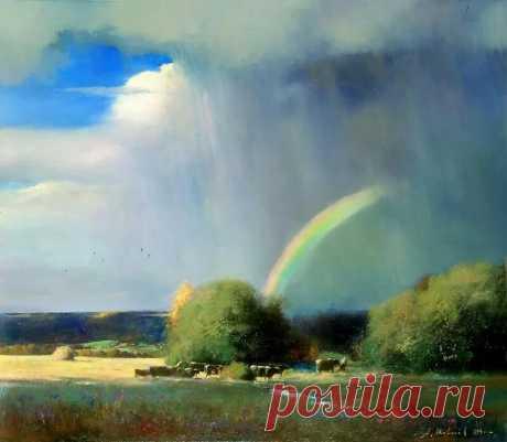 1 августа по народному календарю — Макринин день  На Руси святую Макрину Каппадокийскую нередко называли, немного искажая имя, Мокриной, и не случайно: по тому, насколько «мокрый» этот день, судили о приближающейся осени. Так и говорили: «Макрина мокра — и осень мокра». В то же время осадки сулили хороший урожай на следующий год: «Коли на Макрину дождь, уродится рожь». Эта же примета обещала, что в лесу будет много орехов.