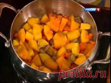 Крем суп из тыквы с имбирем   Александр Селезнев
