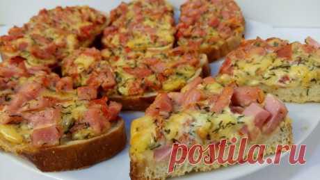 Пицца из Батона, Не Вероятно Вкуснейшая Пицца за 15 минут - Простые рецепты Овкусе.ру