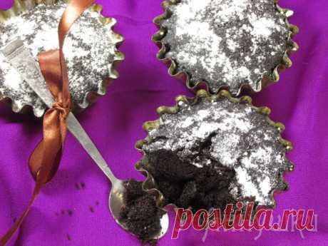 У Аннушки: Постные шоколадные кексы.
