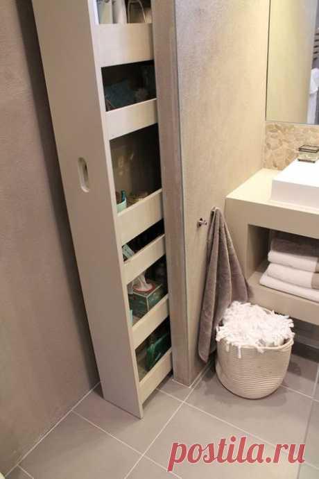 10 реально крутых идей для маленькой ванной