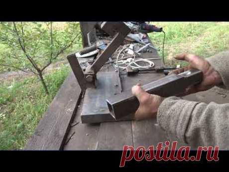 необычная стойка для болгарки своими руками.