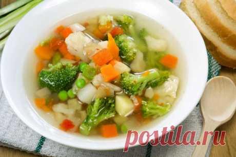 Овощные супы – 12 оригинальных рецептов овощных супов