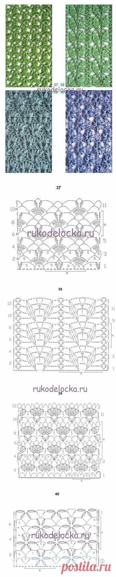 Las cintas por el gancho 3 | Rukodelochka
