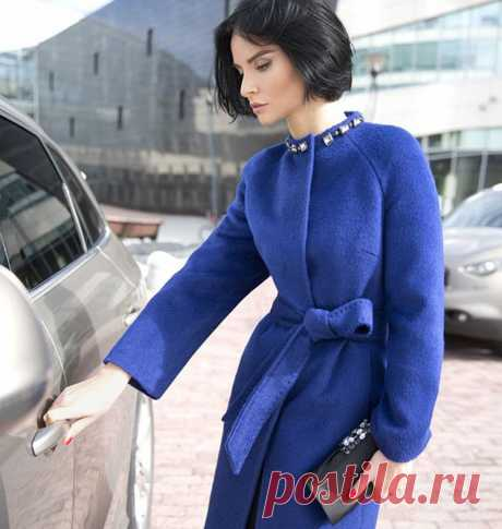 Выкройка пальто с рукавом реглан