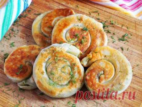 Лепешки с зеленью - рецепт - как приготовить - ингредиенты, состав, время приготовления - Леди Mail.Ru