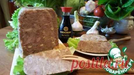 Сальтисон из индейки в мультиварке - кулинарный рецепт