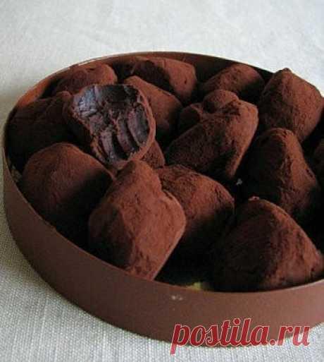 Трюфели шоколадные элементарные рецепт – выпечка и десерты. «Еда»