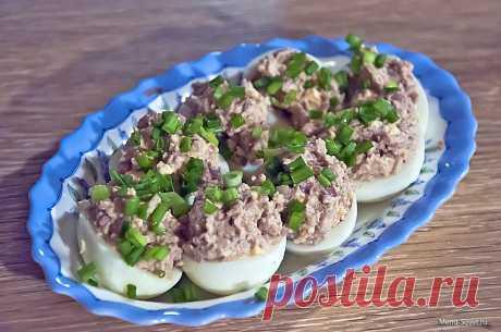 Яйца , фаршированные паштетом » Кулинарные рецепты вкусной домашней кухни