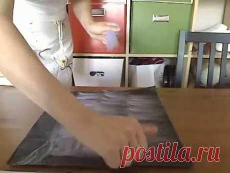 Азбука валяльщика: Тонкая раскладка шерсти (фильм полный)