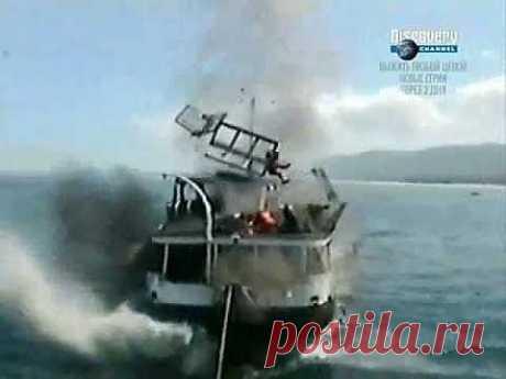 Ship Crash Compilation (Катастрофы Кораблей) - YouTube