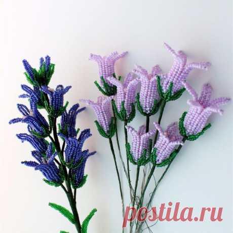 Нежные цветы из бисера — DIYIdeas