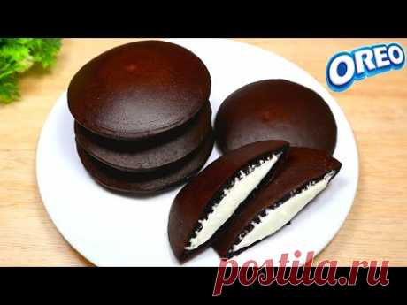 Рецепт Дораяки Орео | дораяки 4 супер мягких и вкусных ингредиента