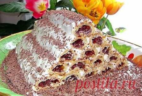 Торт «Монастырская изба» | Готовить может каждый
