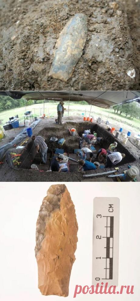 Наконечники копий, обнаруженные в Техасе, являются старейшим оружием, найденным в Северной Америке | Fraid | Яндекс Дзен