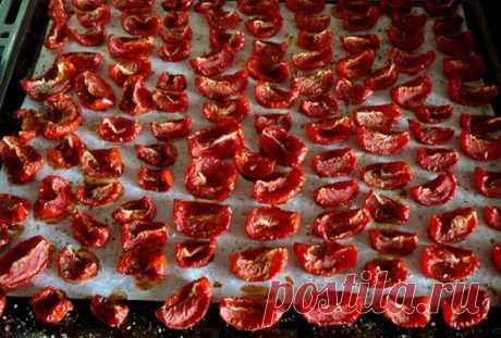 Вяленые помидоры - 7 самых простых и вкусных рецептов
