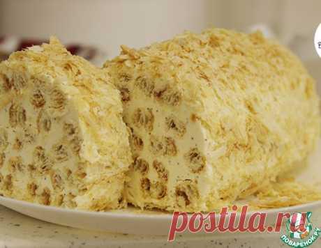 """Торт """"Полено"""" с кофейным вкусом"""