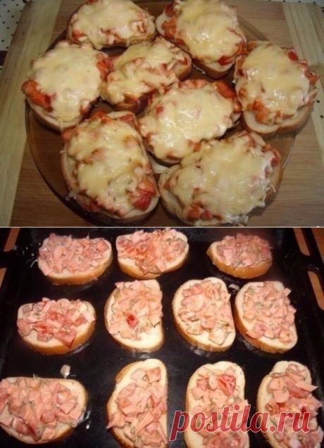 Как приготовить горячие бутерброды на скорую руку - рецепт, ингридиенты и фотографии