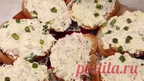 Бутерброды с тунцом ( рецепт )