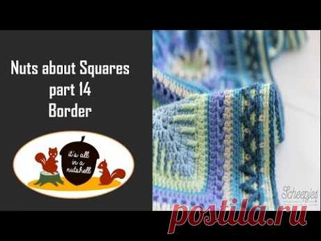 Nuts about Squares Week 15 - Border - RIGHT HANDED