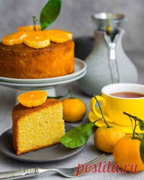 Потрясающие новогодние пироги: мандариновый и апельсиновый!