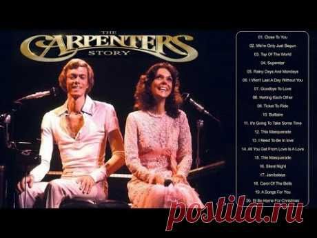 Carpenters Best Songs | Top 20 Best Songs The Carpenters Of All Time