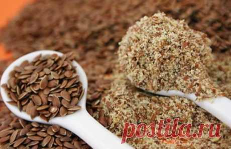 Кисель из льняного семени — мощнейшее очищение и омоложение организма!