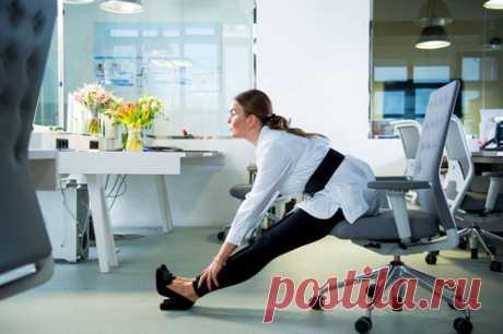 Болит спина от сидячей работы: что делать, чем лечить, упражнения