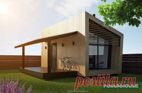 Проект мини-дома: архитектура и бюджет - Статья - Журнал - FORUMHOUSE