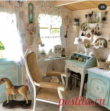 Потрясающий декор детской комнаты