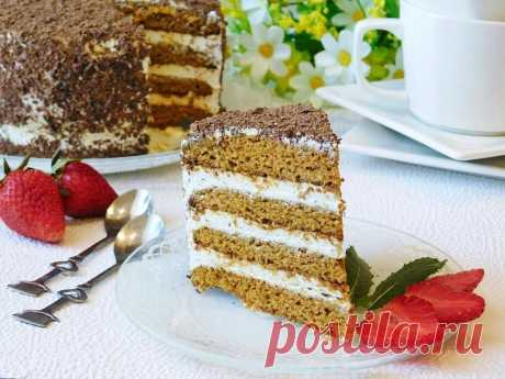 Торт Медовик на водяной бане рецепт с фото пошагово - 1000.menu