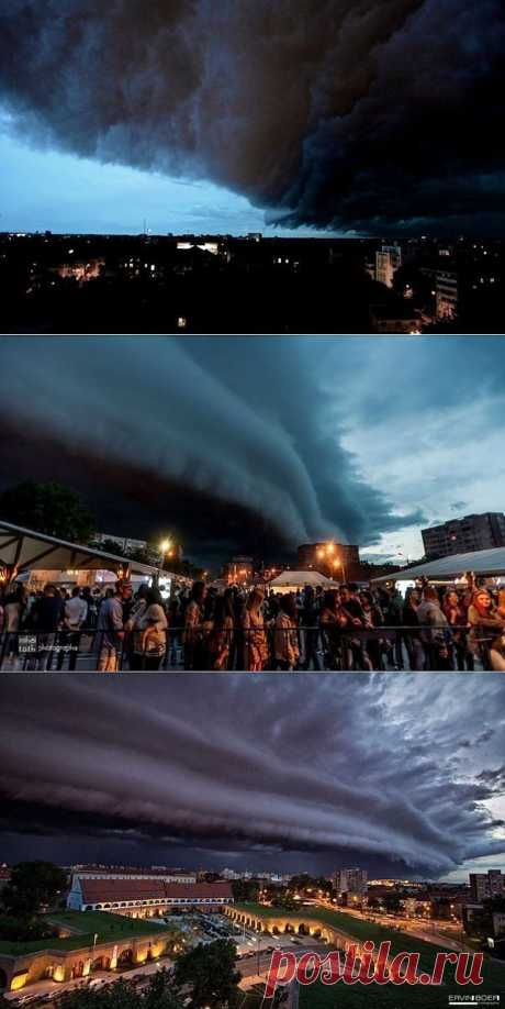 Фантастическая буря в Румынии