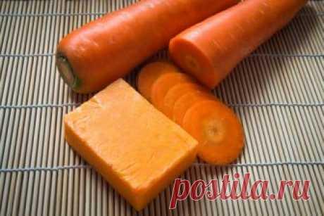 Мягкое мыло на основе моркови и меда Сваренное в домашних условиях из натуральных компонентов, оно будет мягко очищать кожу вашего лица и тела, придавая ей легкий бронзоватый оттенок.